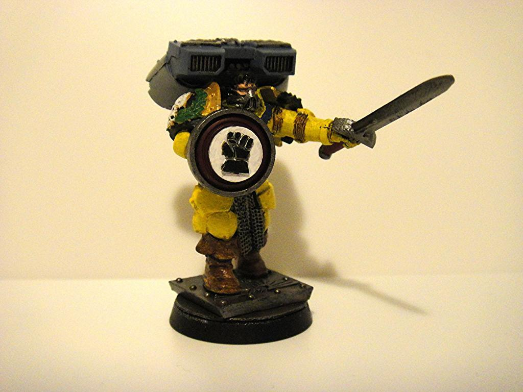 Captain, Imperial Fists, Jump Pack, Storm Shield