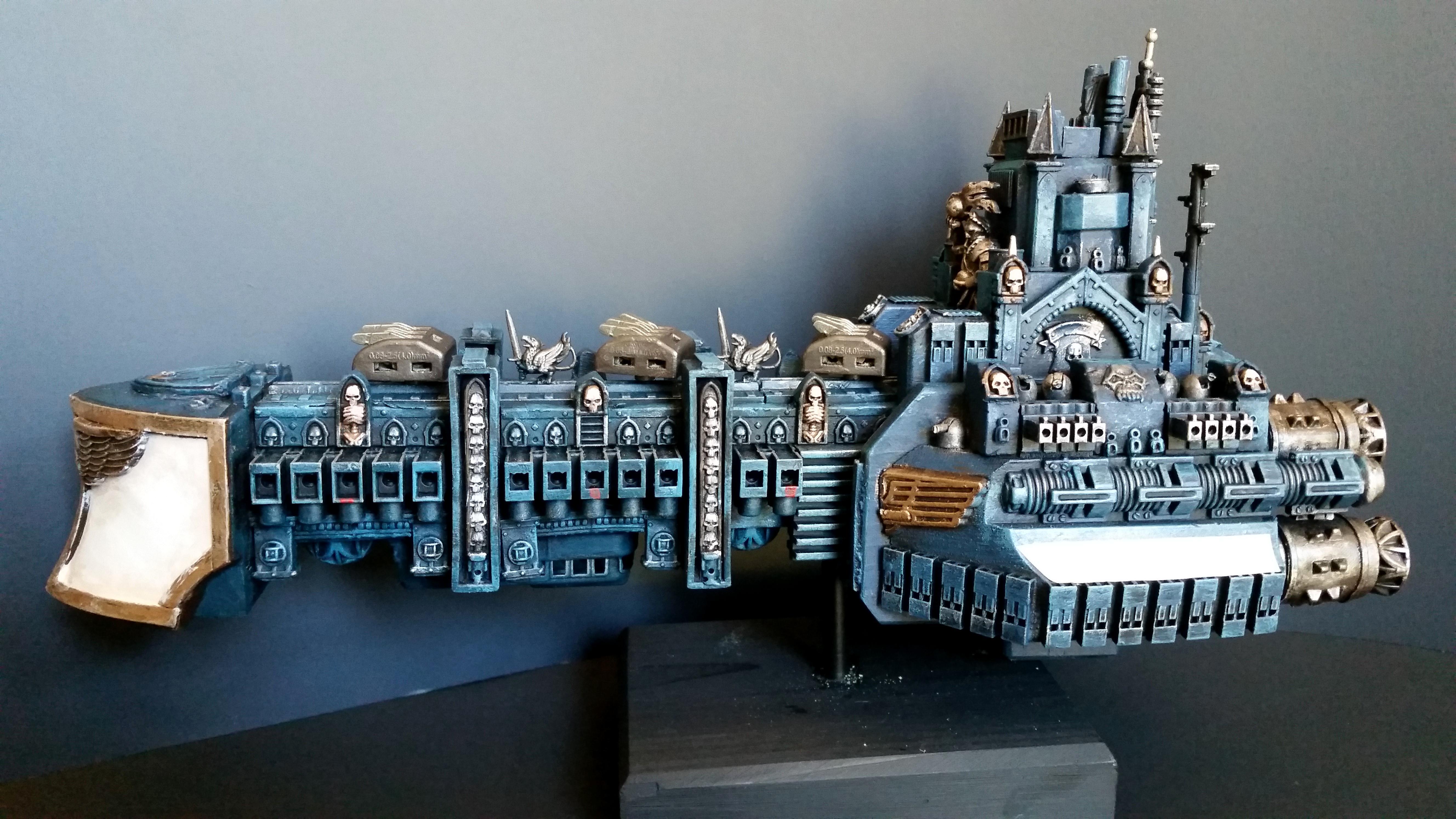 Battlefleet Gothic, Cruiser, Frigate, Rogue Trader, Scratch Build, Warhammer 40,000