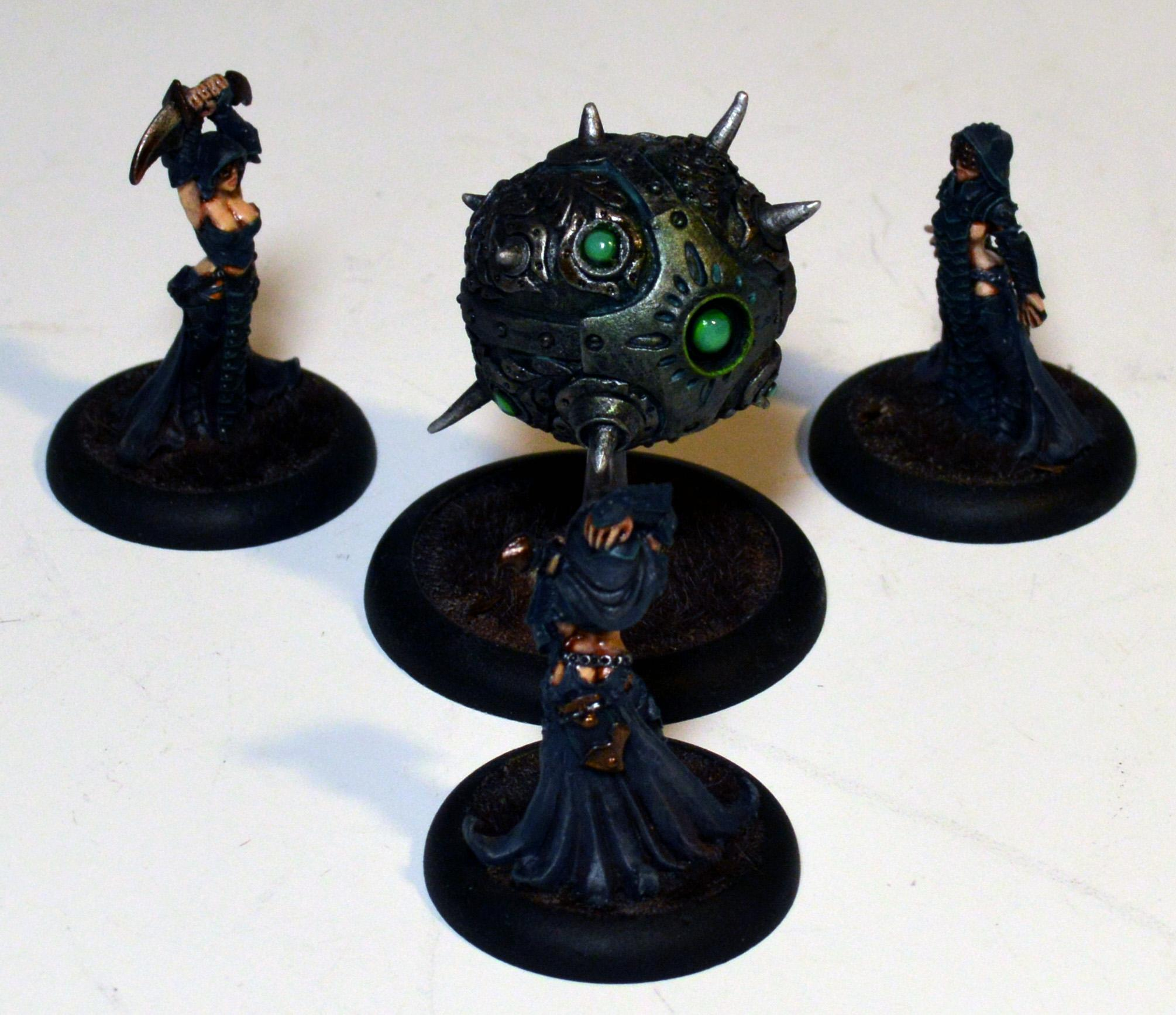 Cryx, Warmachine, Witch Coven of Garlghast & the Egregore