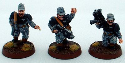 8th Regiment, Astra Militarum, Captain Brown, Imperial Guard, Necromunda, Necromundan, Necromundian Sergeants, Spiders