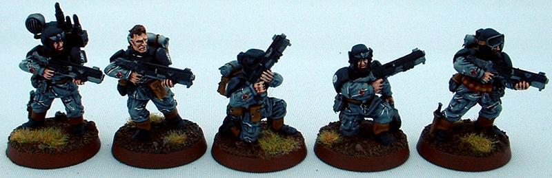 8th Regiment, Astra Militarum, Captain Brown, Imperial Guard, Necromunda, Necromundan, Necromundian Veterans, Spiders