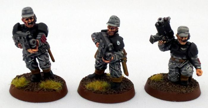 8th Regiment, Astra Militarum, Captain Brown, Imperial Guard, Necromunda, Necromundan, Necromundian Sergeants, Spiders