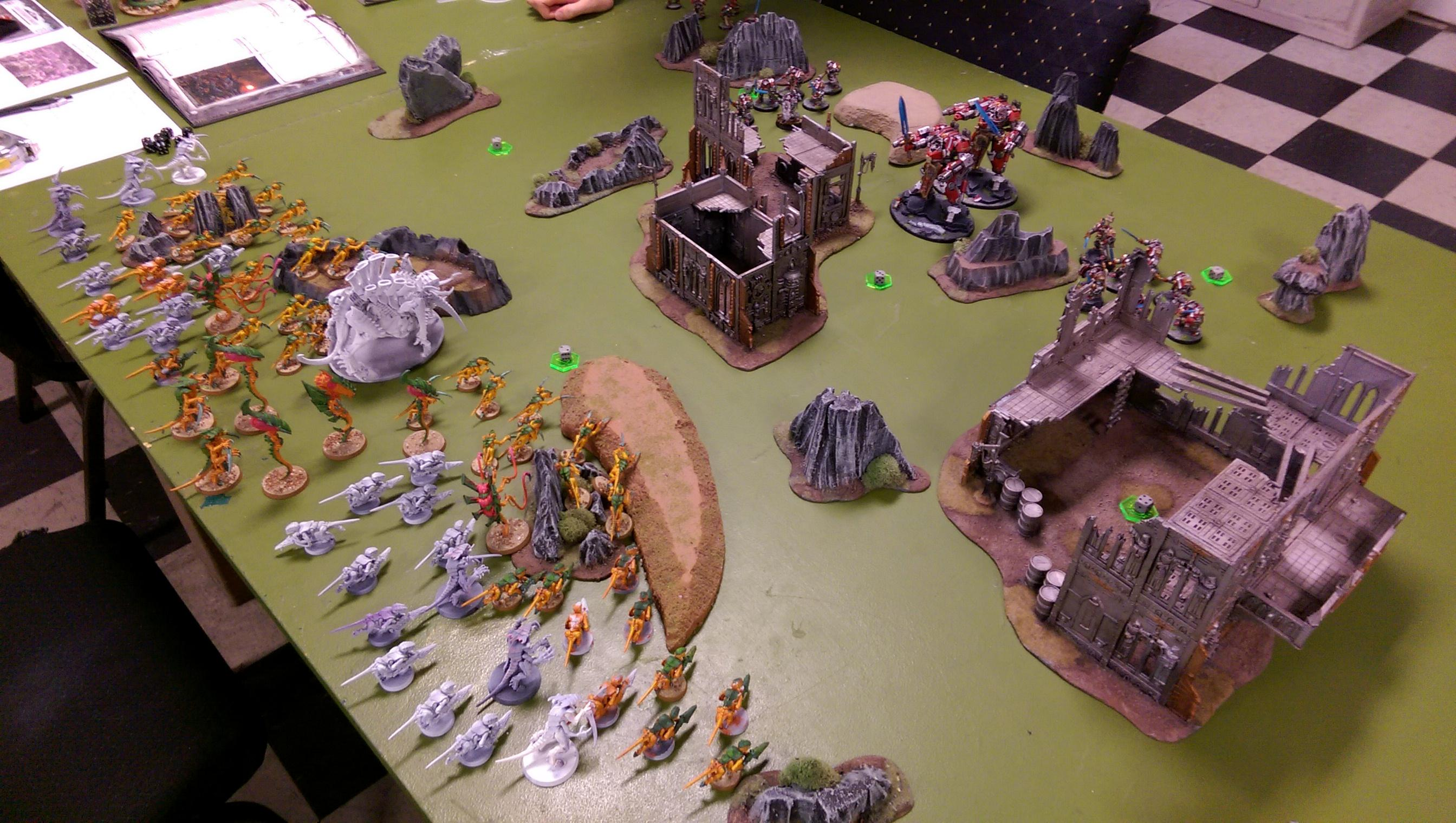 Battle Report, Endless Swarm, Grey Knights, Tyranids, Zimko