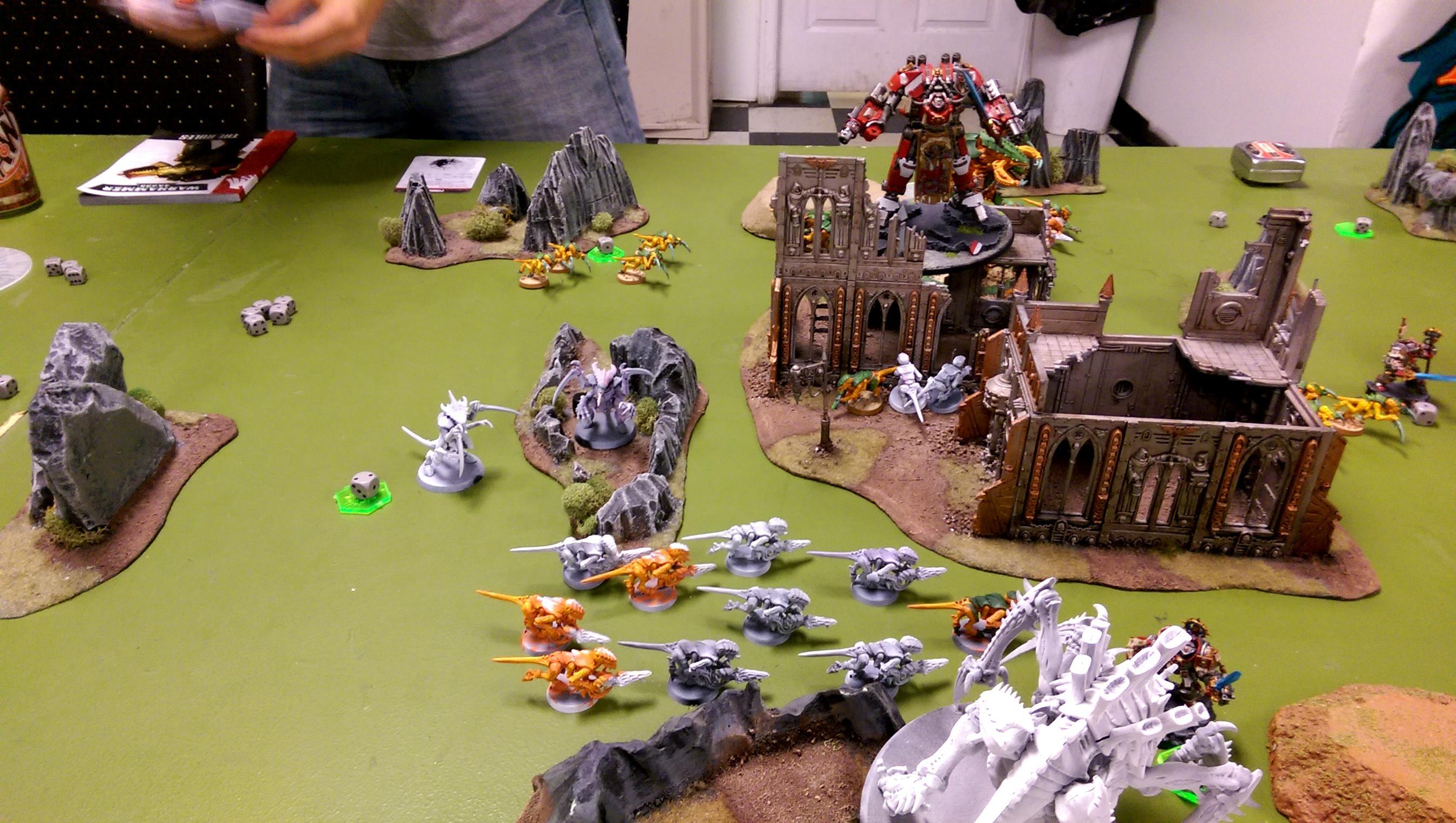 Battle Report, Endless Swarm, Grey Knights, Tyranids, Zimko