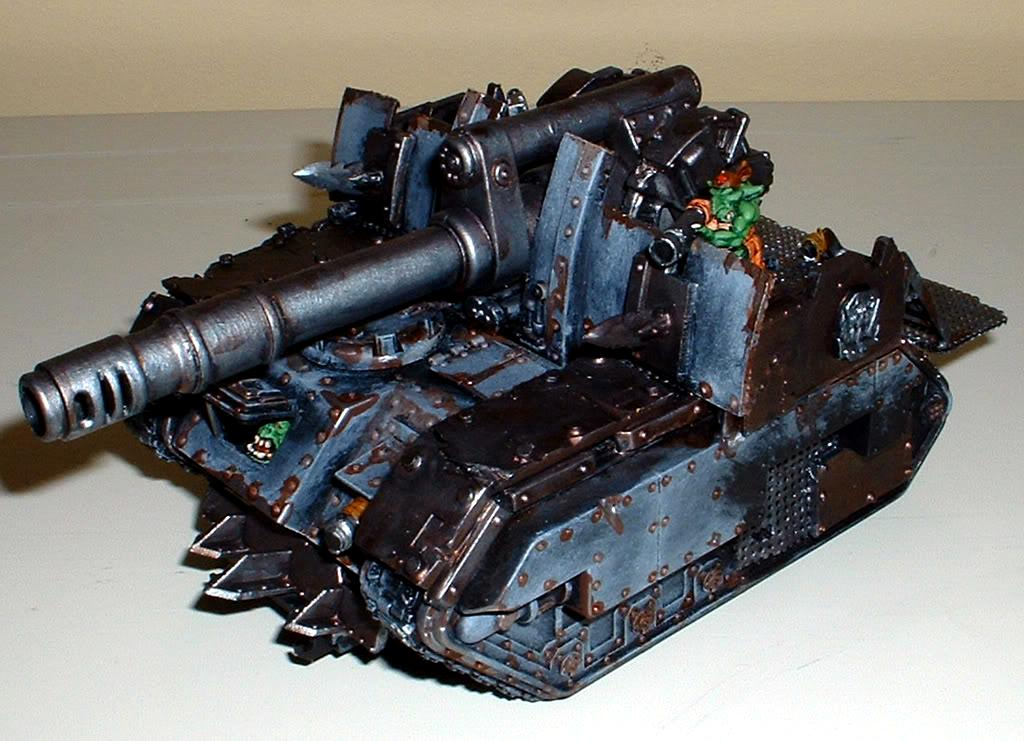 Captain Brown, Gretchin, Looted Vehicle, Orks, Waaagh