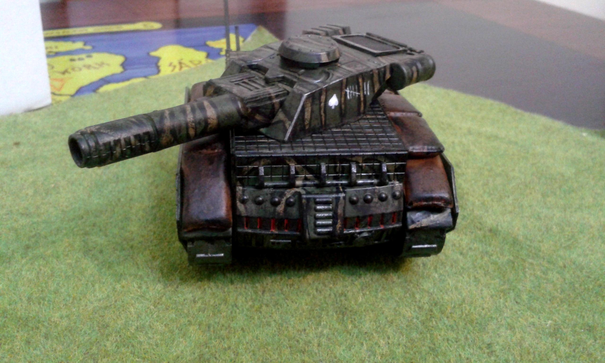 Battle Tank, Brone Korpus