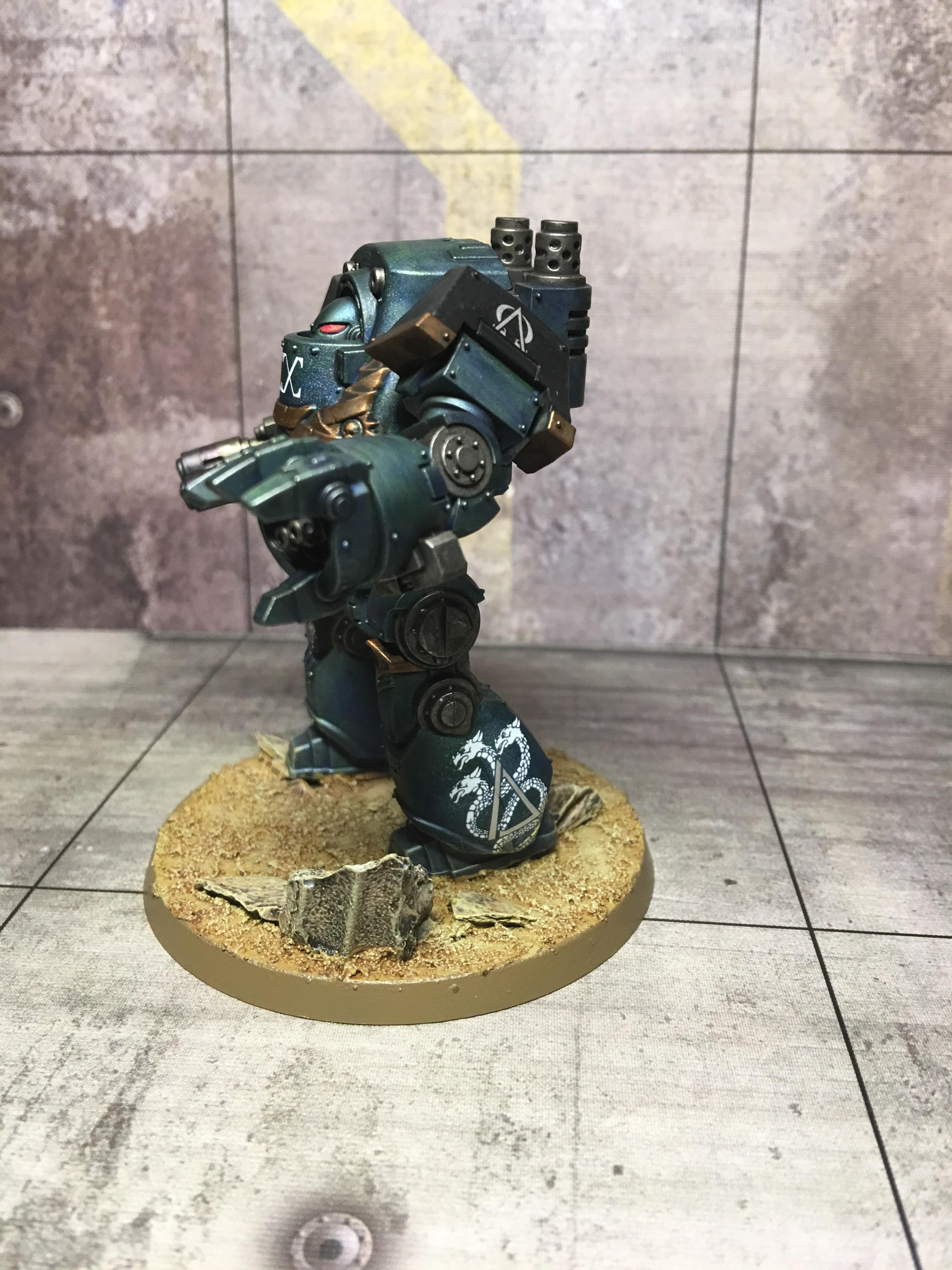 30k Alpha Legion, Alpha Legion, Betrayal At Calth, Contemptor Dreadnought