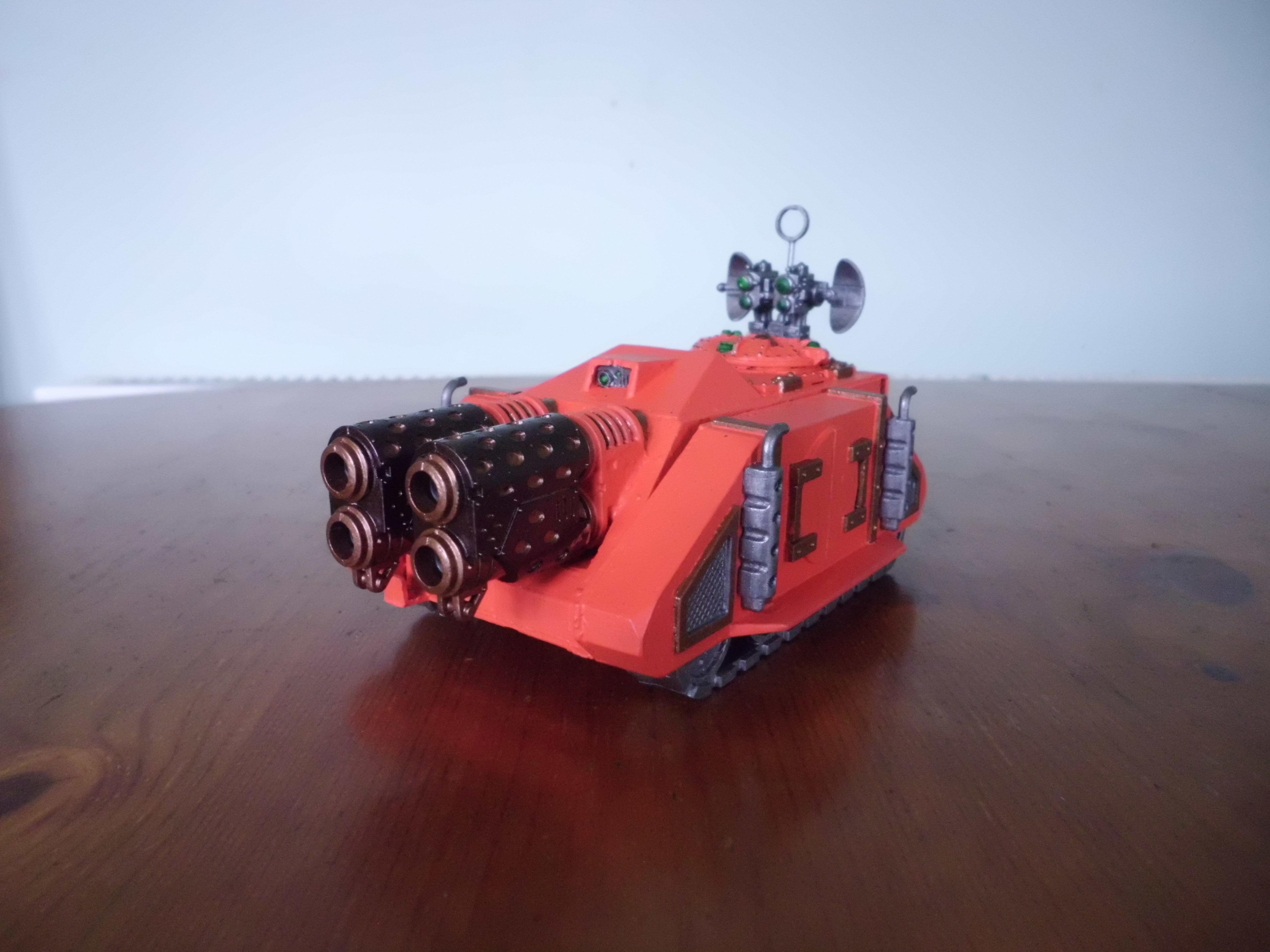 30k, Artillery Tank, Dual Melta Cannon, Mechanicum, Ordo Reductor, Whirlwind Conversion