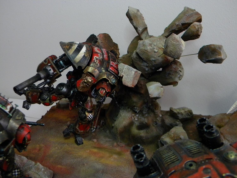 Diorama, Dynamic, Imperial Knights
