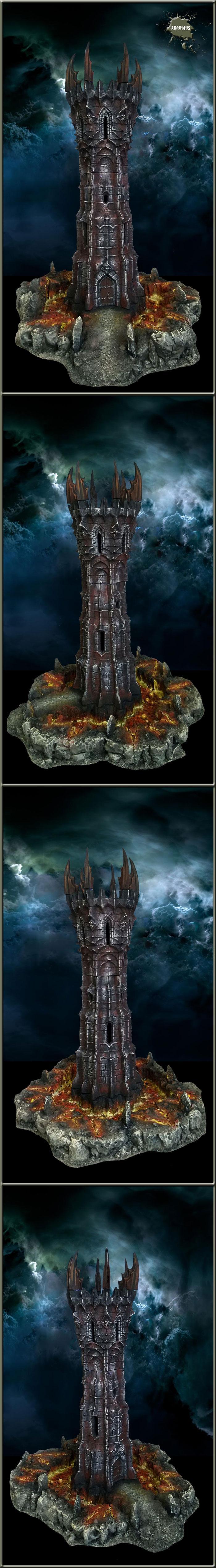Terrain, Wargame, Warhammer Fantasy, Wizard Tower