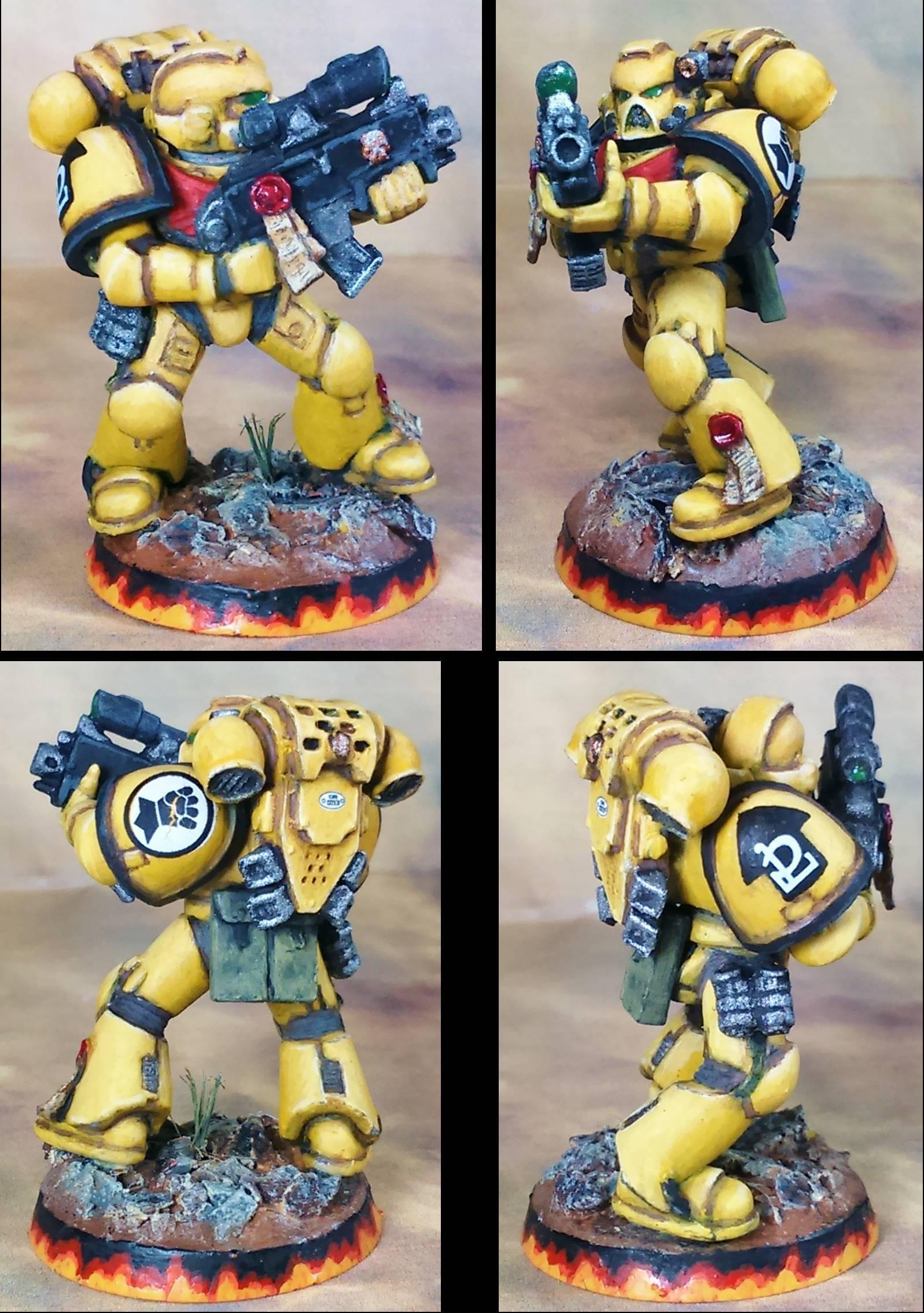 Tactical Marine #6; Repaint