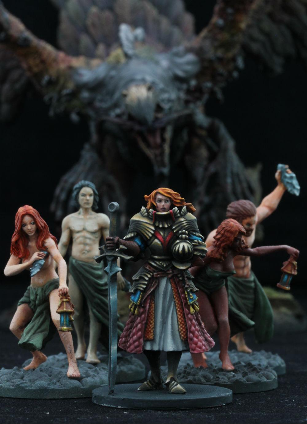 Female, Horrors, Kingdom Death, Knights, Miniatures, Terror, Warhammer Fantasy