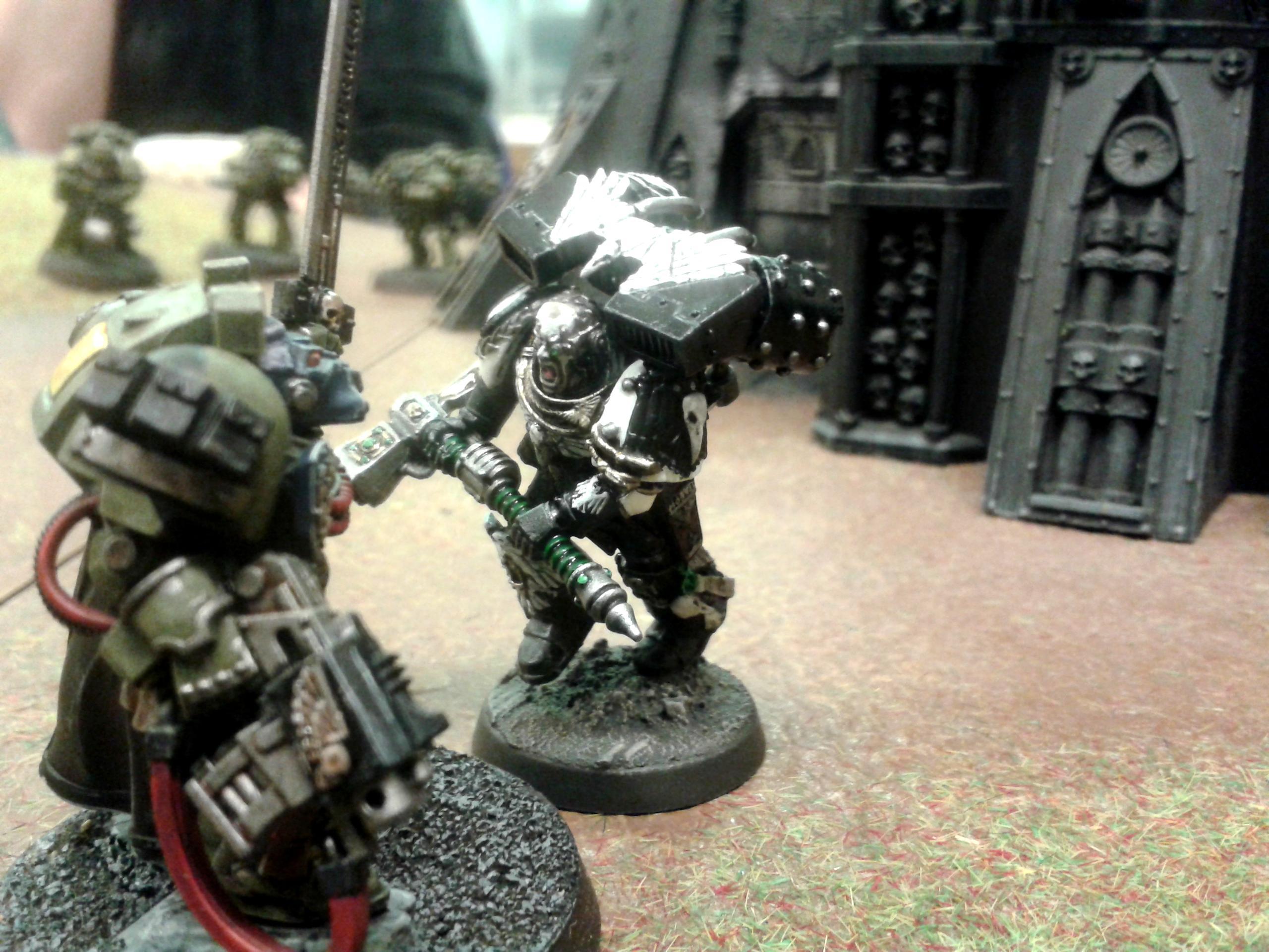 Battle, Guard, Hammer, Raven, Report, Space, Space Marines, War, Warhammer 40,000, Warhammer Fantasy