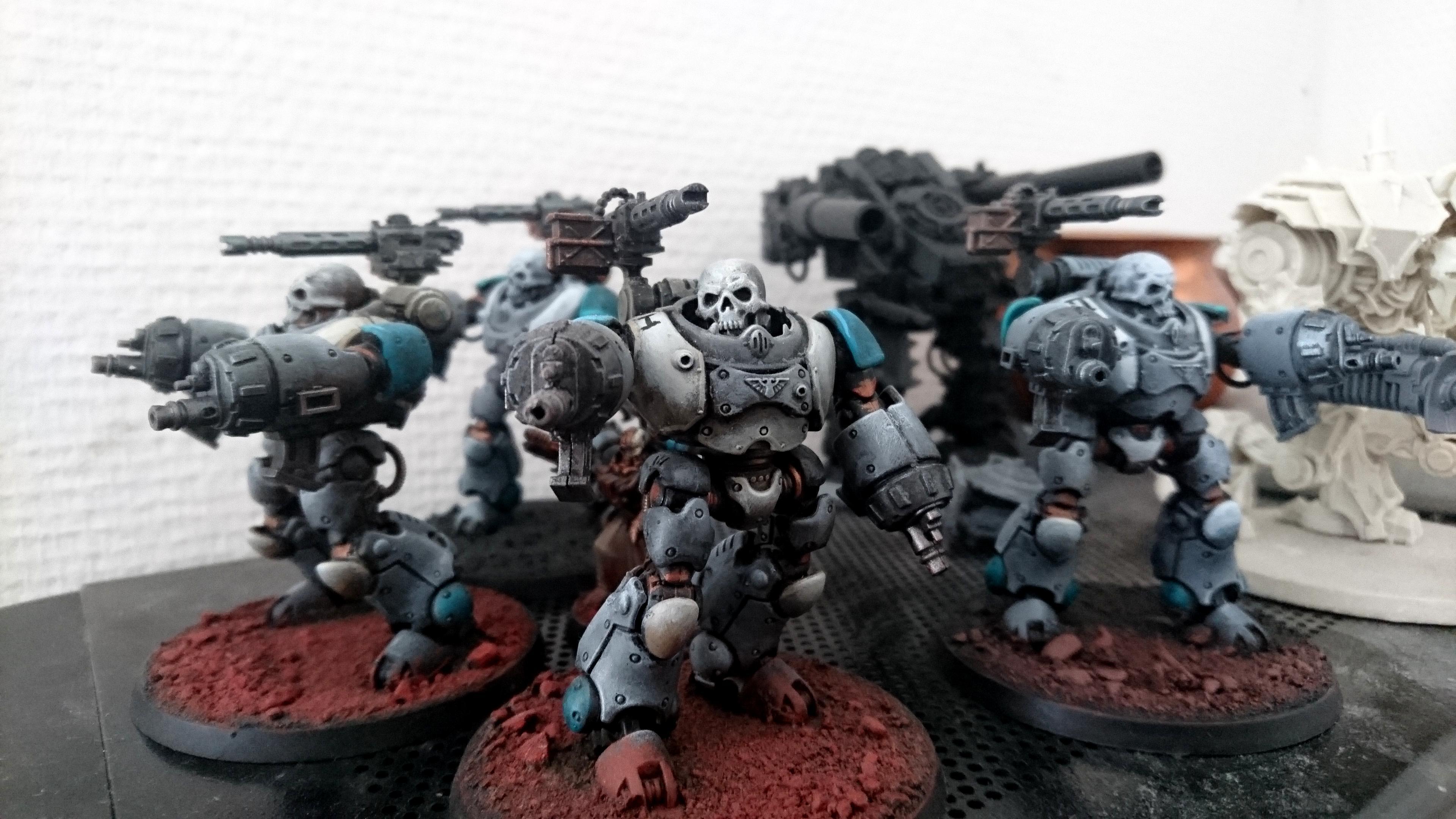 Conversion, Cult Mechanicus, Dark Mechanicum, Skull