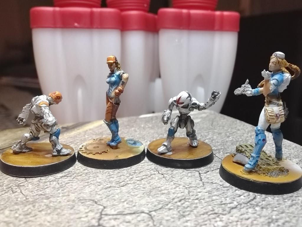 Drauma Doc, Engineer, Infinity, Palbot, Panoceania, Proxy, Support Pack