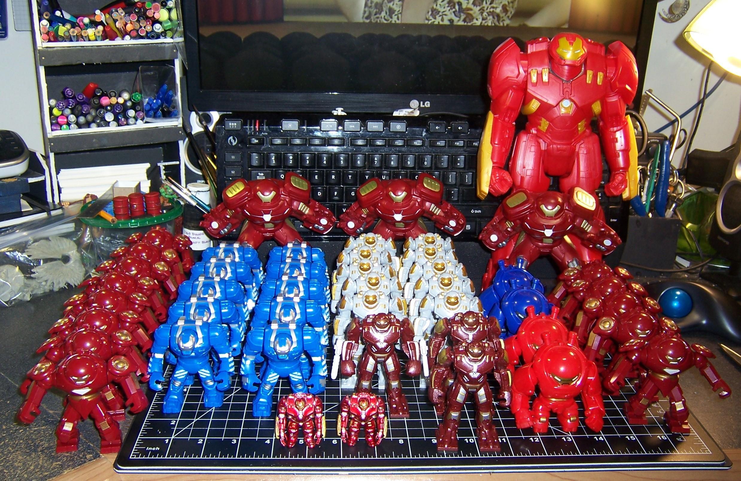 Hulk Buster, Iron Man, Superhero, Toy