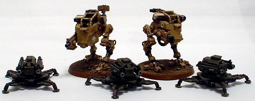 Astra Militarum, Captain Brown, Drop Troops, Elysian, Imperial Guard, Sentinel, Sentry Guns