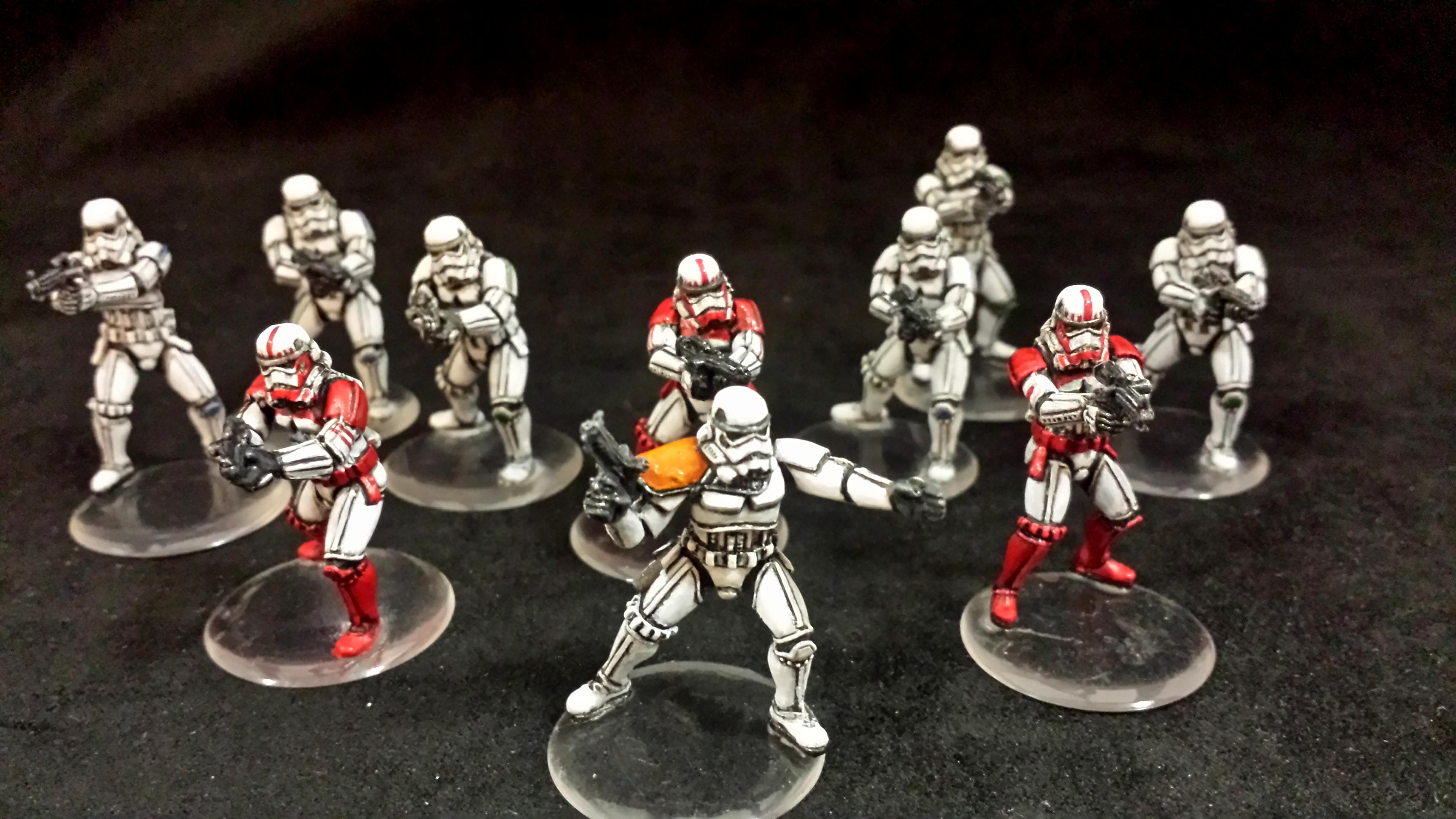 Imperial Assault, Star Wars, Storm Troopers