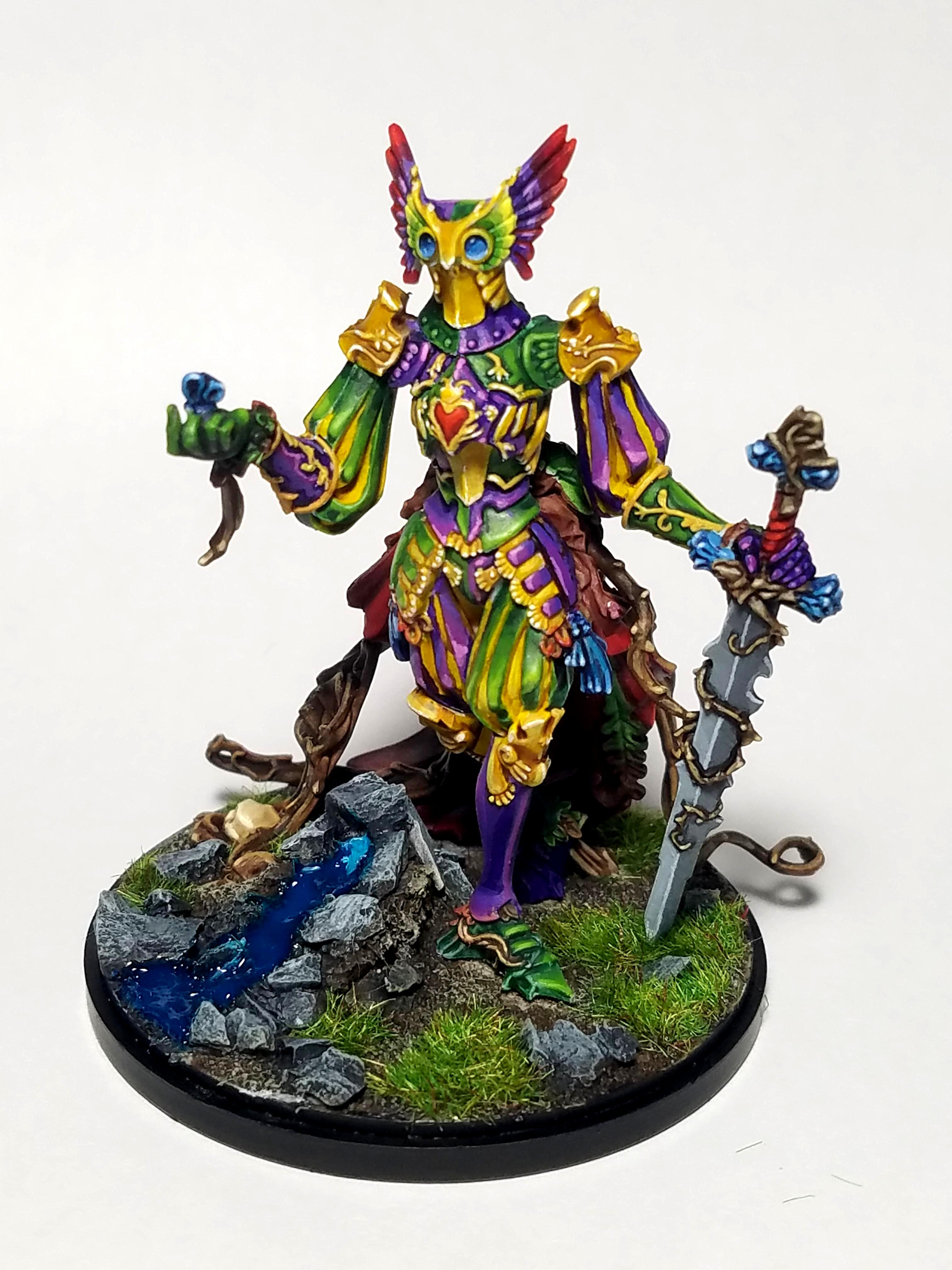 Brilliant, Colourful, Harlequins, Kingdom Death, Knights, Water Effect