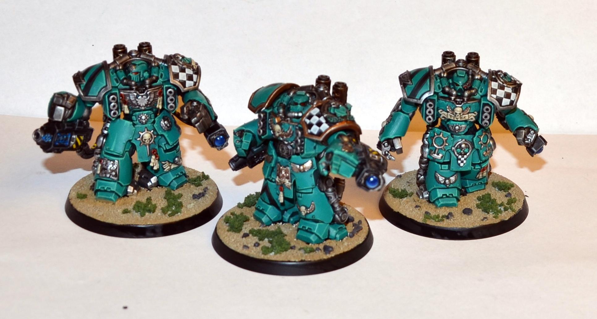 Centurions, Jade Tigers, Space Marines, Warhammer 40,000