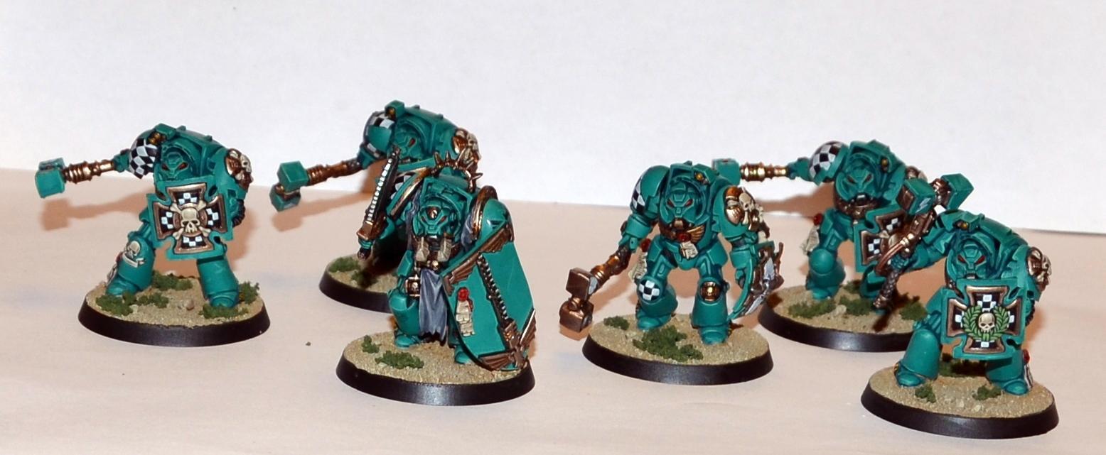 Jade Tigers, Space Marines, Terminator Armor, Warhammer 40,000