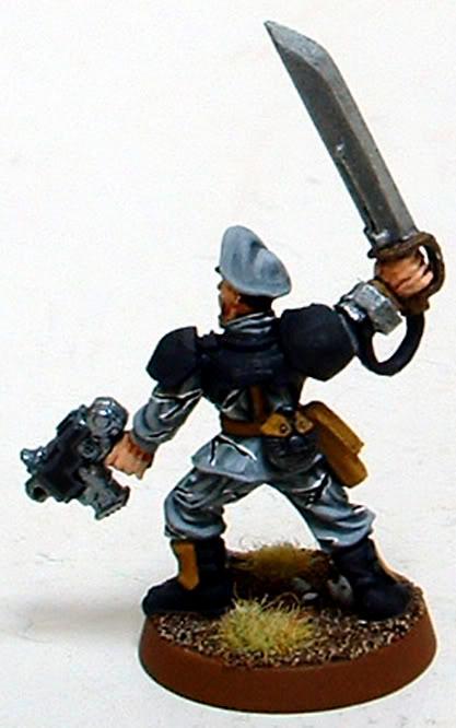 8th Regiment, Astra Militarum, Captain Brown, Imperial Guard, Junior Officer, Necromunda, Necromundan, Spiders