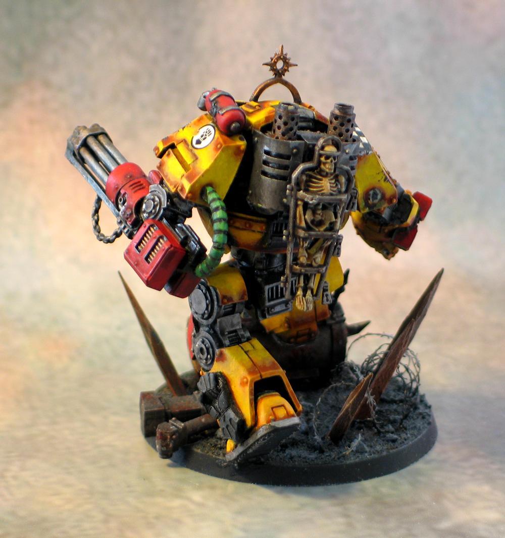 Contemptor Dreadnought, Imperial Fists