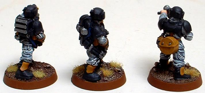 8th Regiment, Astra Militarum, Captain Brown, Grenade Launcher, Imperial Guard, Meltagun, Necromunda, Necromundan, Plasma Gun, Spiders