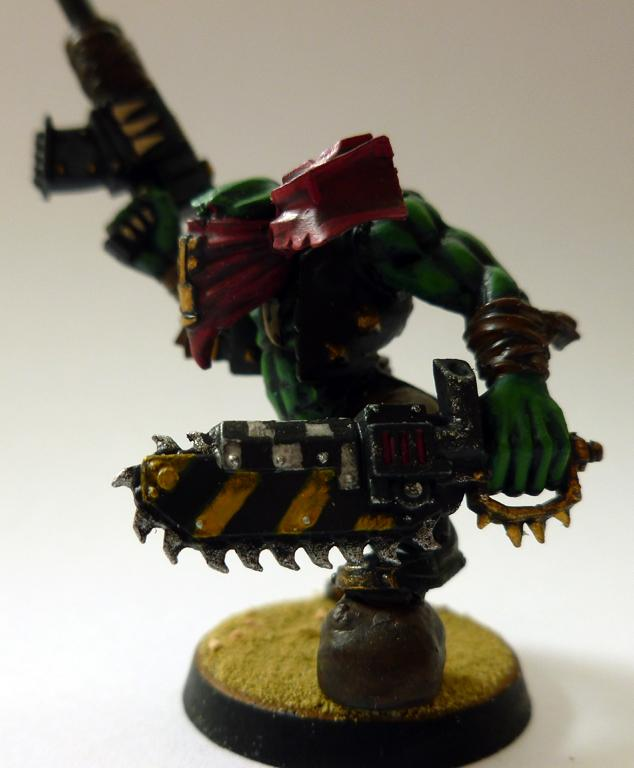 Bandanna, Chainsword, Conversion, Freeboota, Freebooter, Orks, Outlaw, Pirate, Shoota, Warhammer 40,000