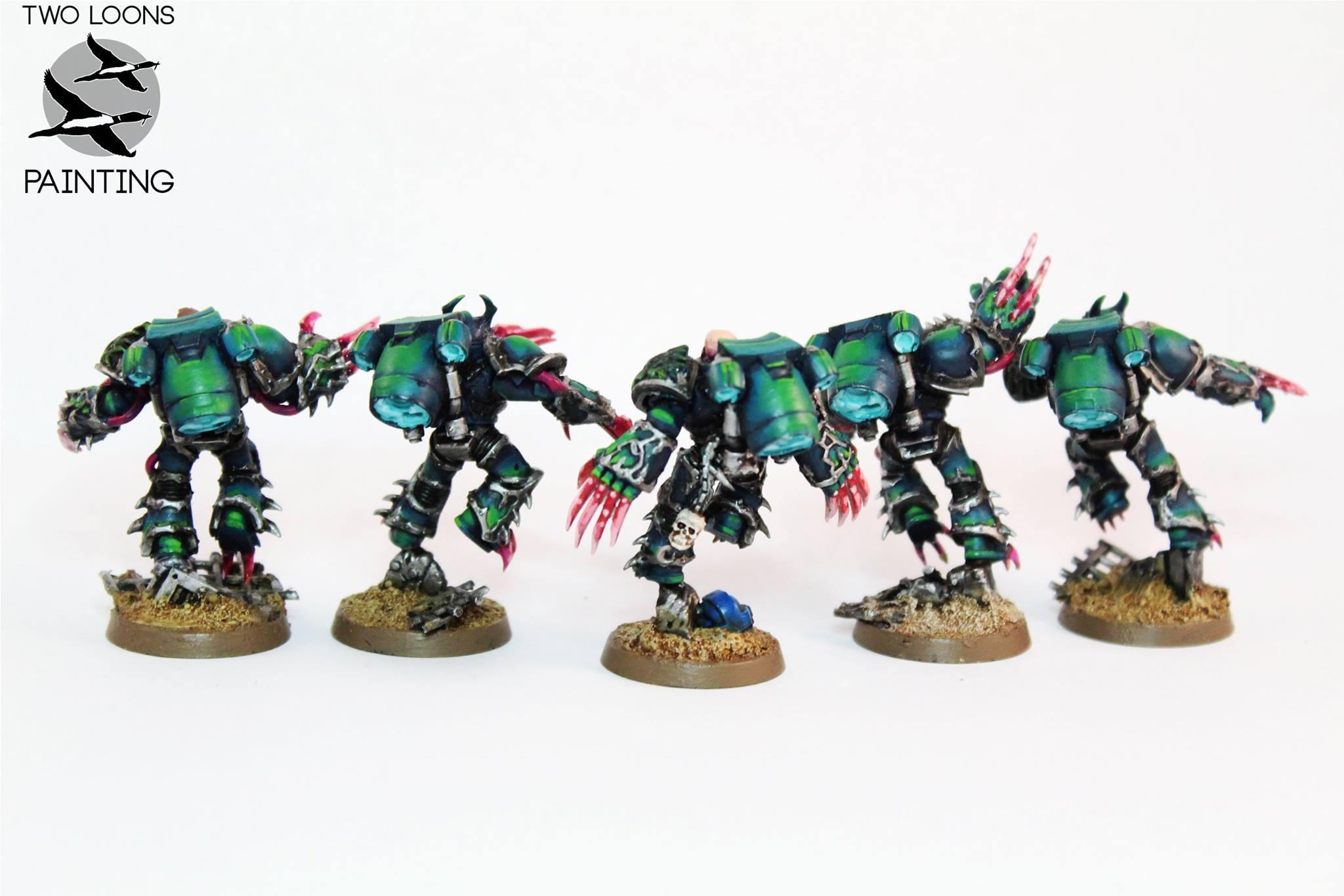 Alpha Legion, Chaos, Jump Pack, Raptors, Warhammer 40,000