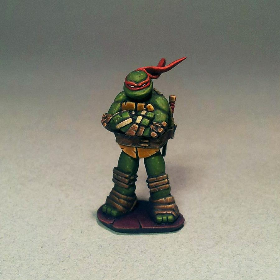 28mm, Diorama, Mutant, My Way Miniatures, Myway, Ninjas, Tmnt