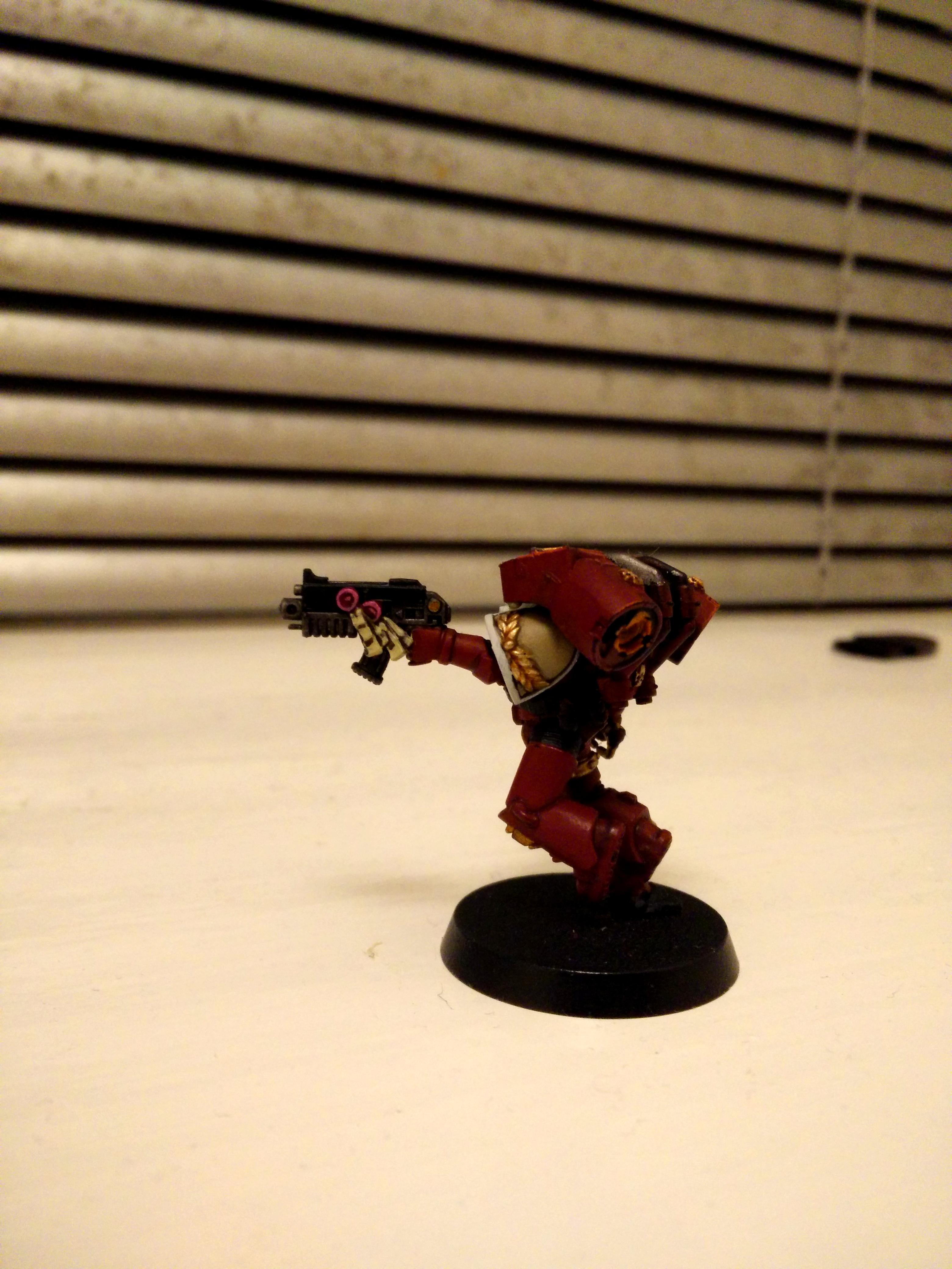 Blood Raven Vanguard Veteran WIP