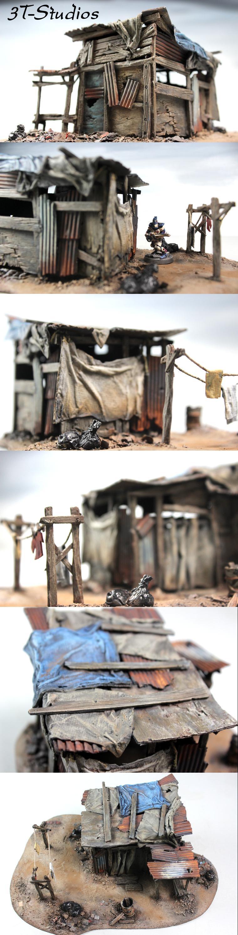 Poor, Post Apocalypse, Rustic, Shack, Shanty, Slums, Terrain, Urban