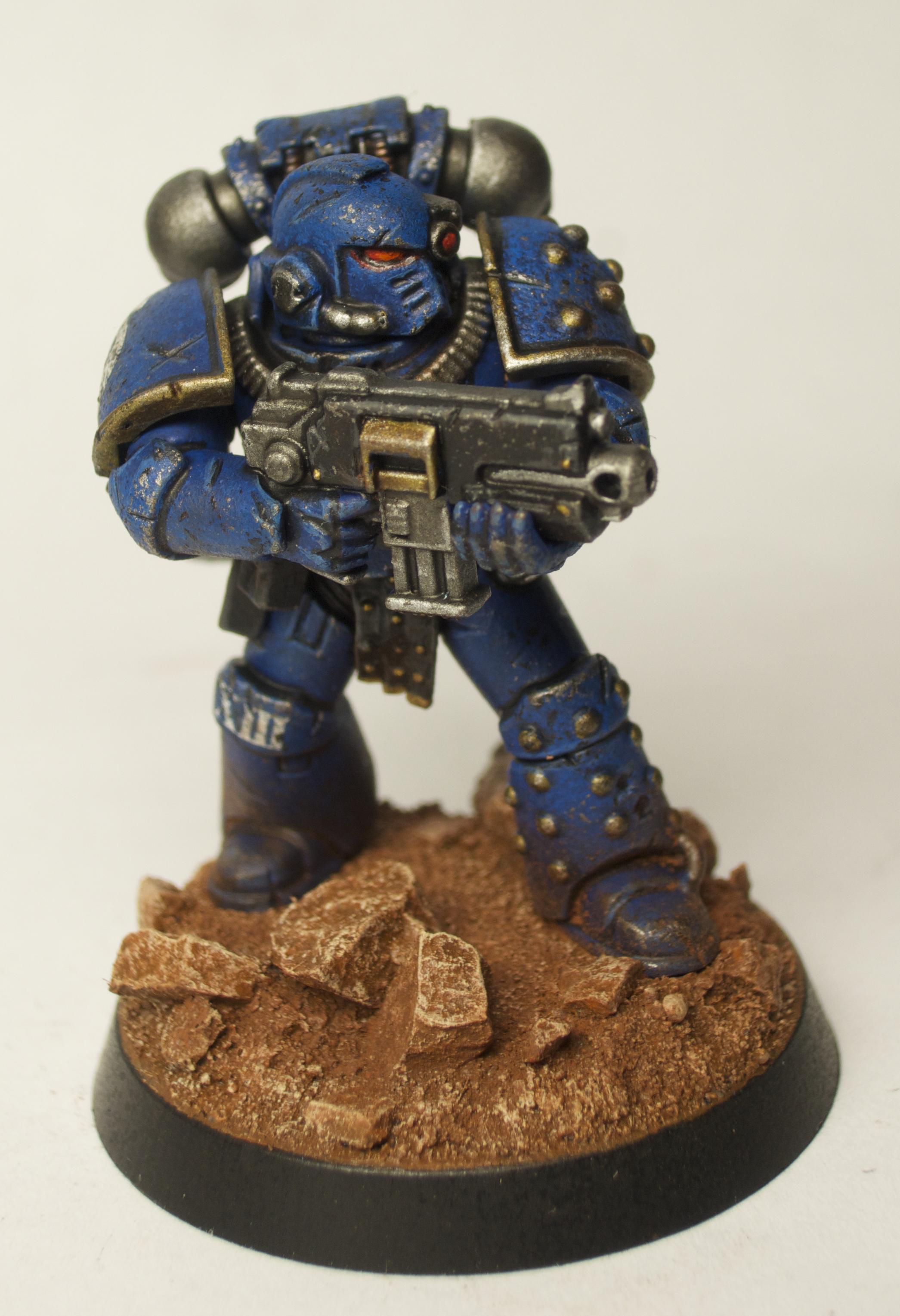 30k, Forge World, Heresy, Legion, Space Marines, Ultramarines, Weathered