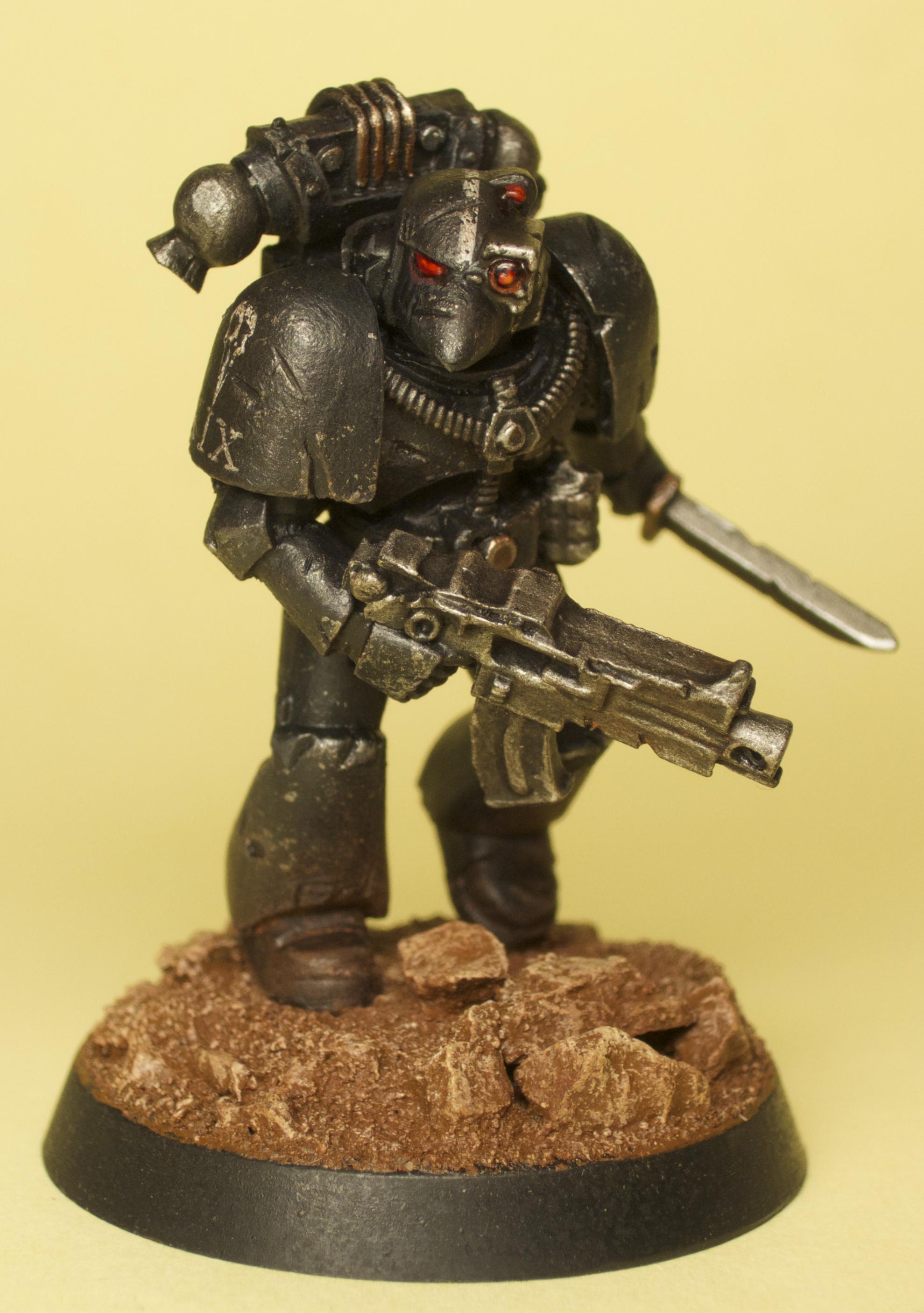 30k, Forge World, Heresy, Legion, Raven Guard, Space Marines, Weathered