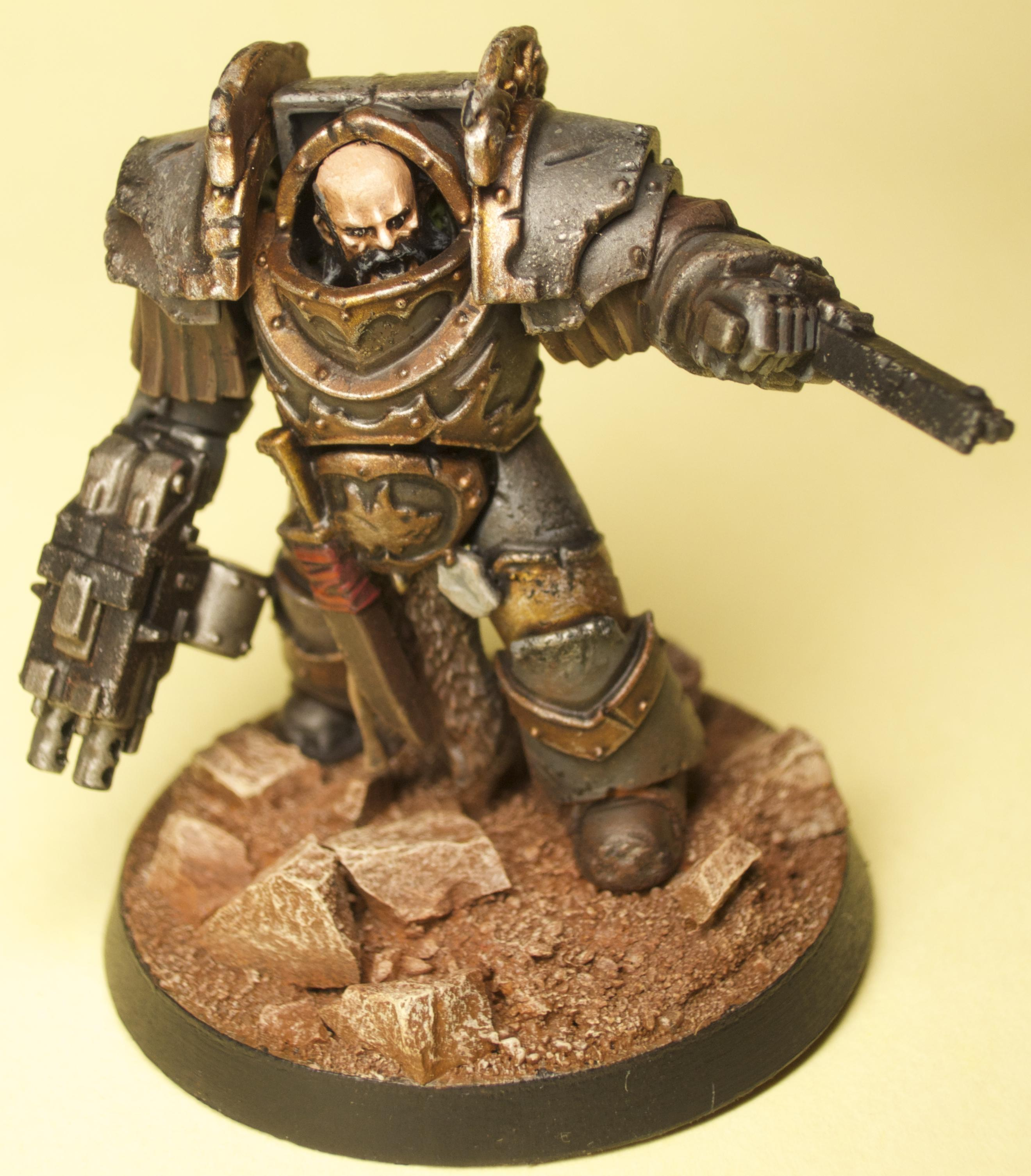 30k, Cataphractii, Forge World, Heresy, Legion, Space Marines, Space Wolves, Terminator Armor, Weathered, Wolf Guard