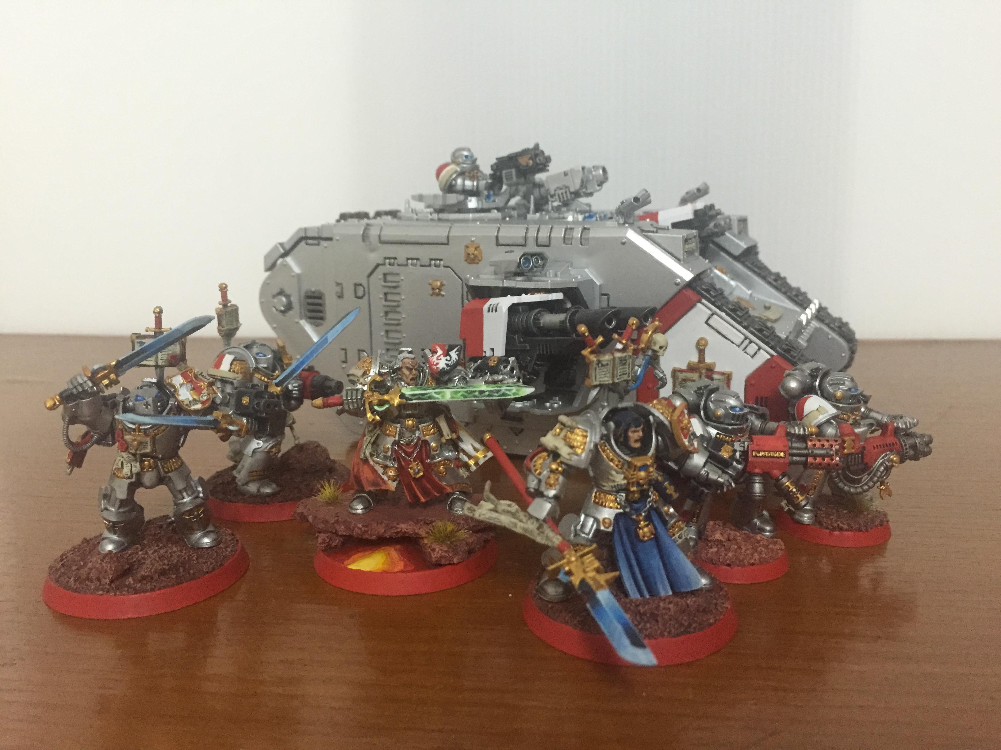 Brother, Captain, Grey Knights, Justicar, Land Raider, Paladin, Purgation, Stern