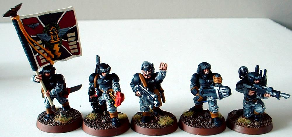 8th Regiment, Astra Militarum, Captain Brown, Imperial Guard, Junior Officer, Medic, Necromunda, Necromundan, Pcs, Plasma Gun, Spiders, Vox