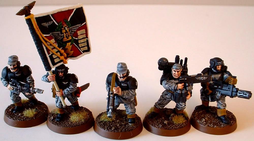 8th Regiment, Astra Militarum, Captain Brown, Imperial Guard, Junior Officer, Meltagun, Necromunda, Necromundan, Spiders, Vox