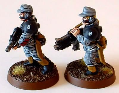 8th Regiment, Astra Militarum, Captain Brown, Imperial Guard, Junior Officer, Necromunda, Necromundan, Spiders, Squad Leader
