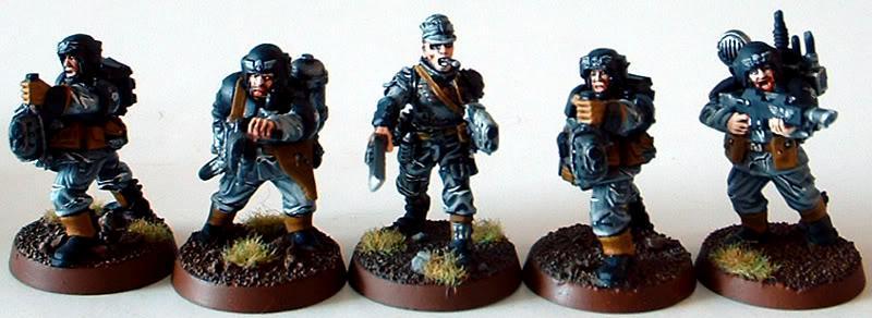8th Regiment, Astra Militarum, Captain Brown, Flamer, Imperial Guard, Junior Officer, Necromunda, Necromundan, Pcs, Plasma Gun, Spiders, Vox