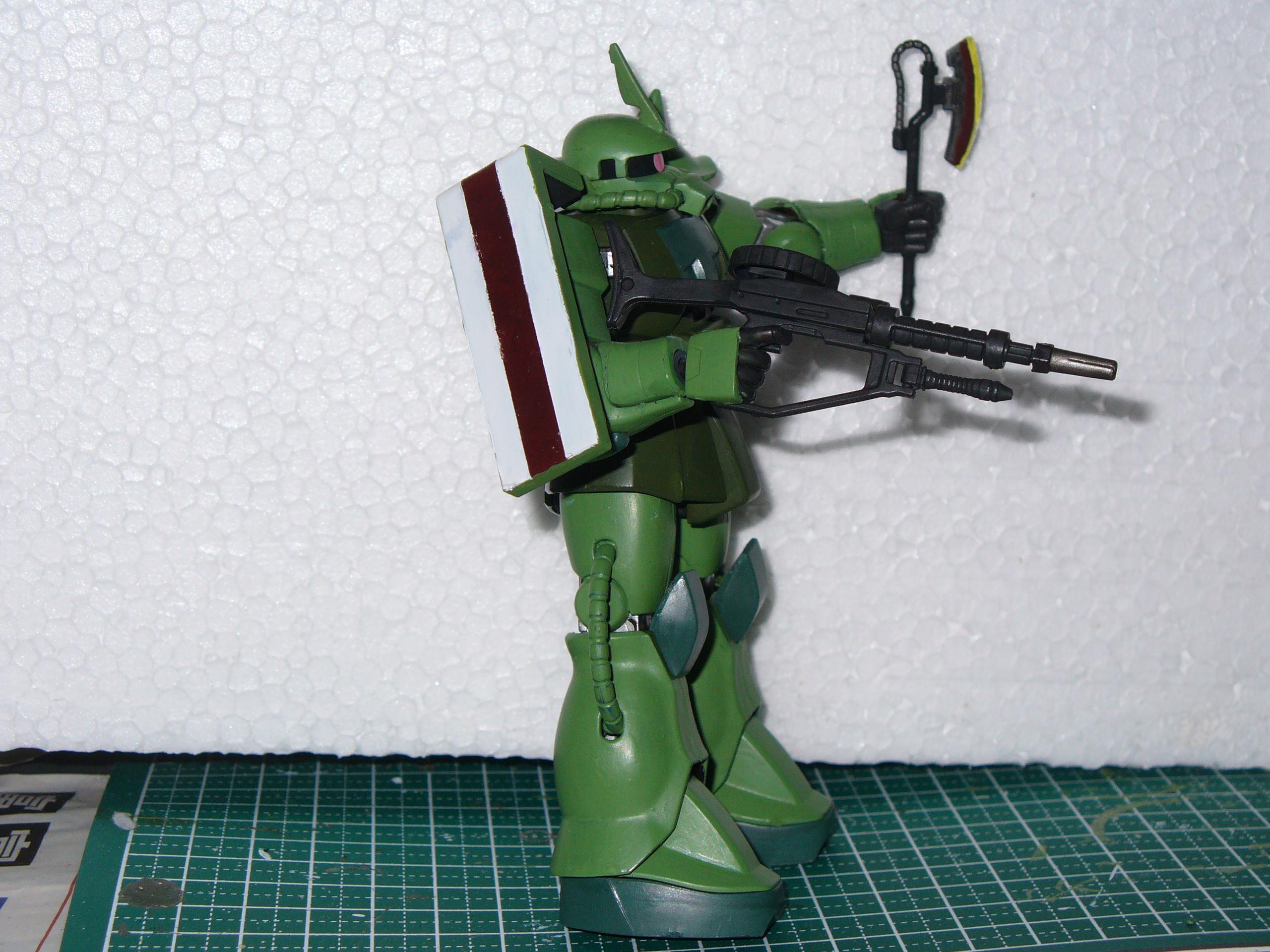 1:144, Gundam, Mecha, Mobile Suit, Zaku, Zeon
