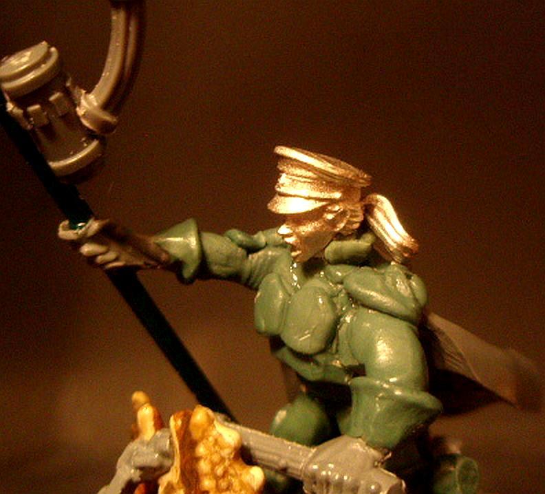 Astra Militarum, Command Squad, Imperial Guard, Roughrider, Roughrider Sculpt