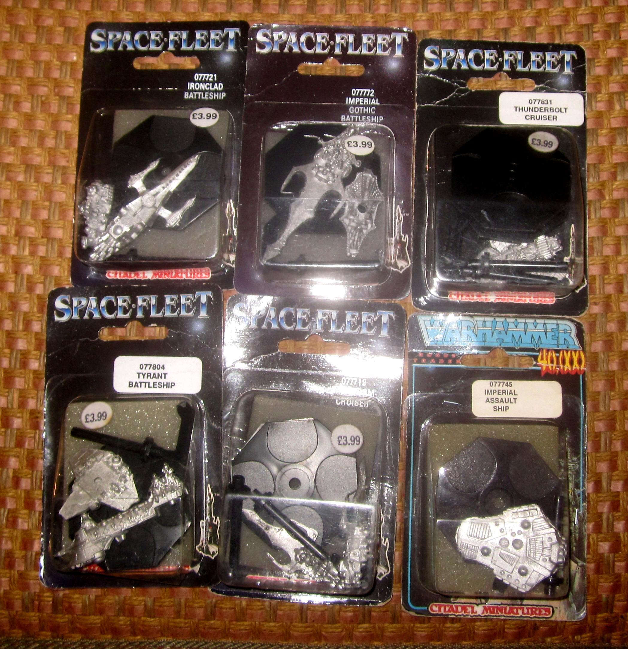 Packaging, Rogue Trader, Space Fleet