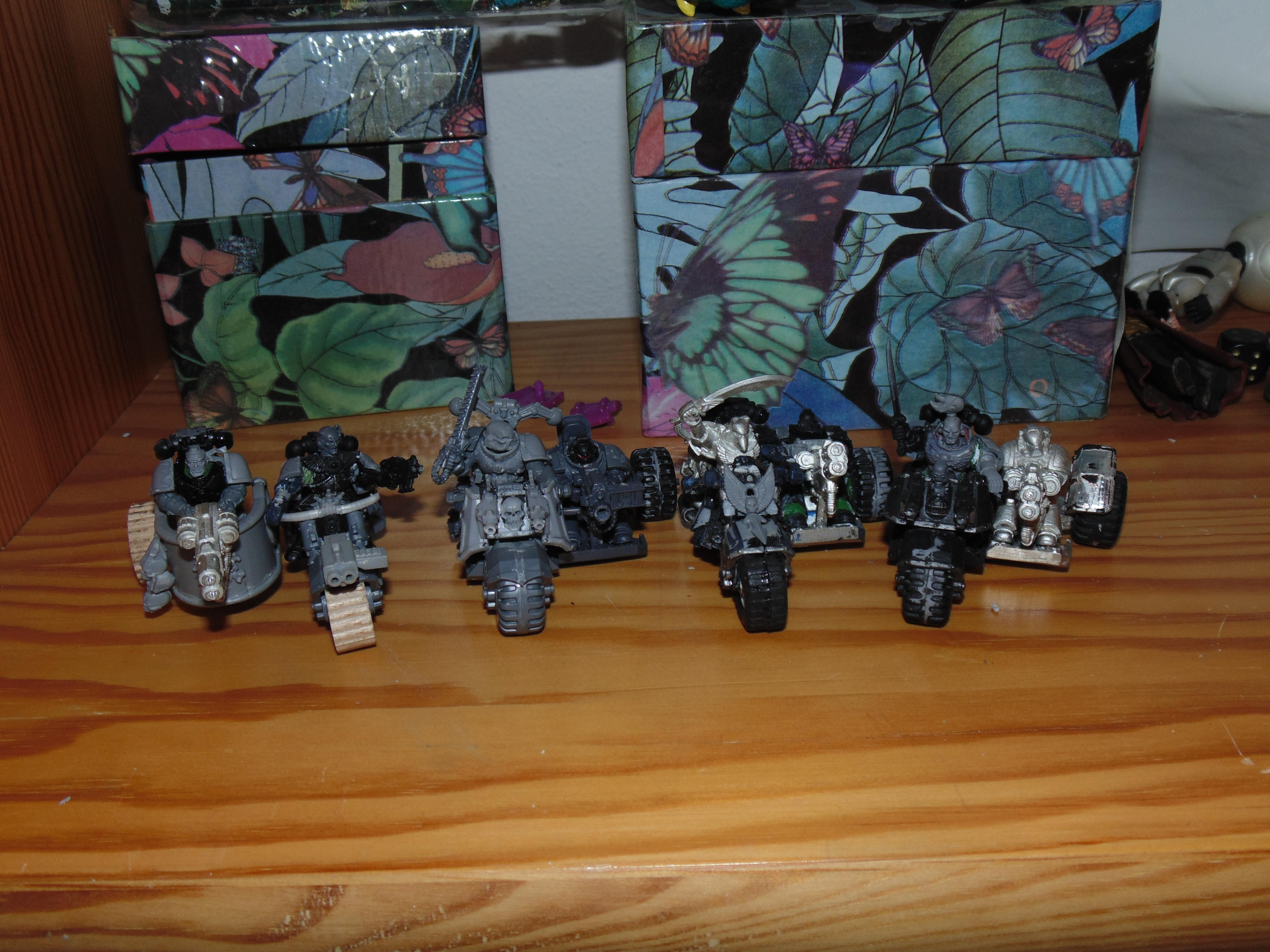 Army, Attack, Big, Bike, Blood, Chaplain, Conversion, Dreadnought, Epistolarii, Huge, Old, Painting, Scars, School, Test, Trike, Trikes, White, Work In Progress, Ws