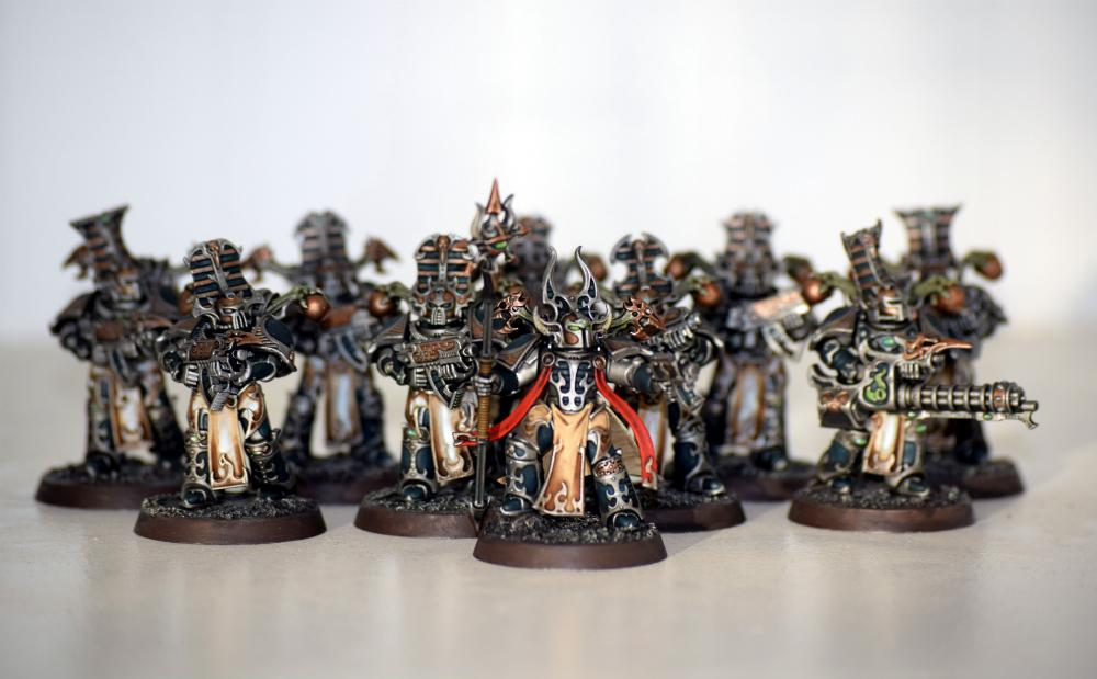 Chaos, Rubric, Space Marines, Thousand Sons, Thousand Sons Rubric Chaos Marines