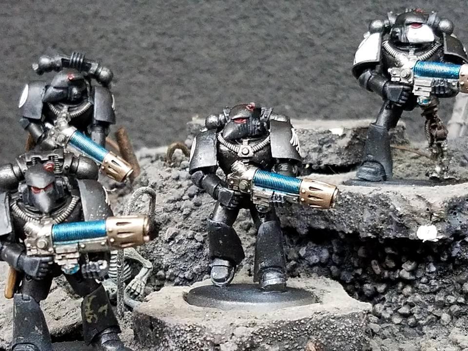 Raven Guard, Space Marines, Warhammer 30k