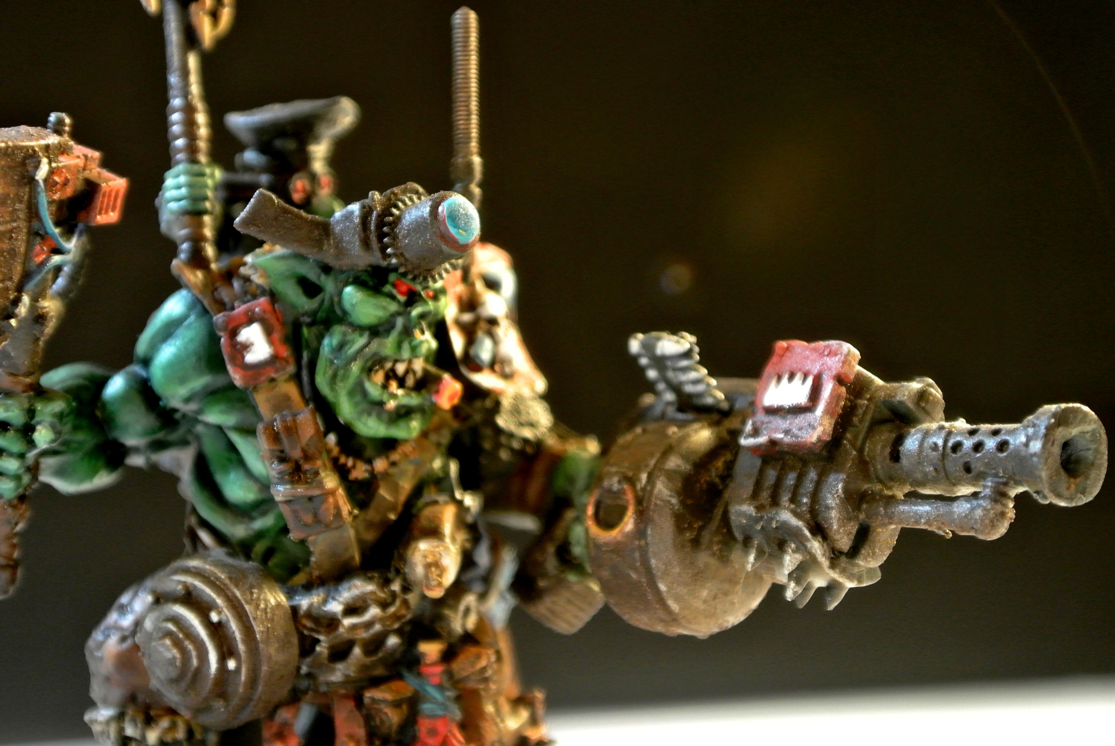 Blood Axe, Conversion, Ork Kommando, Warboss