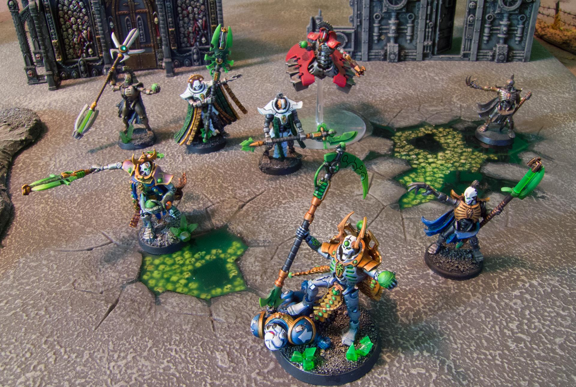 Conversion, Necron Lord, Necrons, Ouze, Overlord
