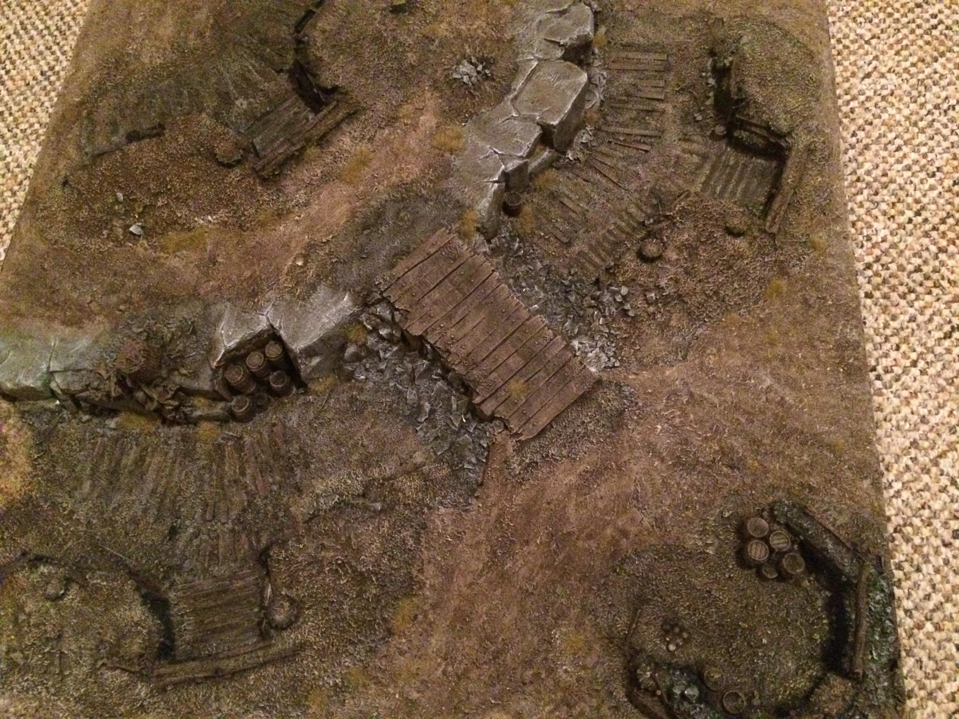 Death Korps of Krieg, Game Table, Terrain